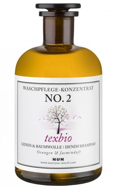 No.2 texbio 500g Eco Flaschen (Glas)